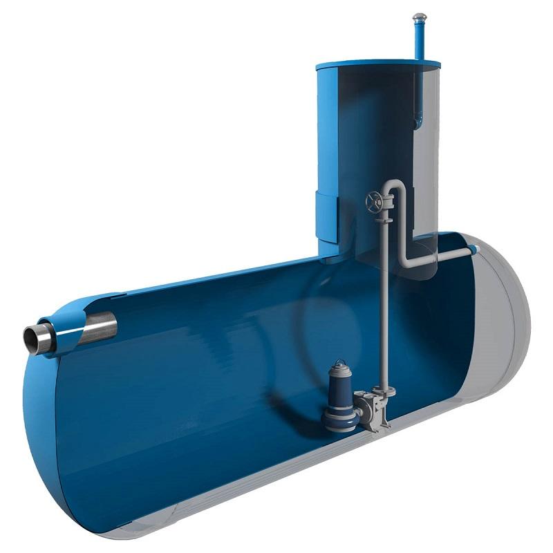 Горизонтальные канализационные насосные станции (КНС)